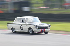 Martin Strommen, Ford Lotus Cortina (Crackers250) Tags: car racing vintage old classic brandshatch mastershistoricfestival 2018 motorsport retro masters pre66 touring cars saloon ford lotus cortina