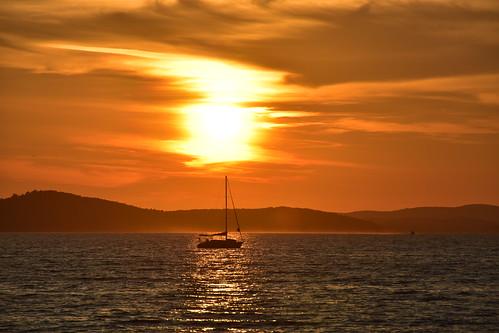 Sunset at Zadar