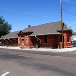 Rock Springs  Utah - Union Pacific Depot - 1920 - Depot Park thumbnail