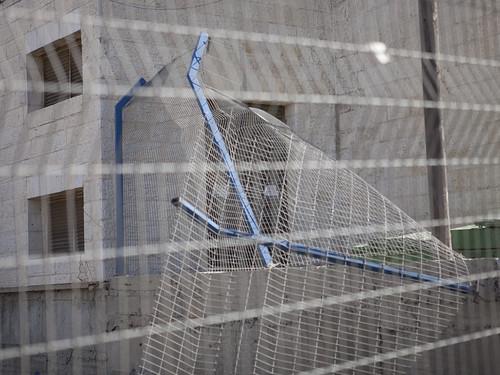Fallen Iron Fence