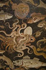 Pompeiian Mosaic (Saomik) Tags: 2015 august toronto ontario canada rom royalontariomuseum