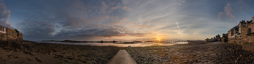 Roscoff Harbour Promenade - Roscoff, France - August 17, 2018