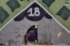 Cat's address, house nr. 18 (gerard eder) Tags: travel world reise viajes europa europe españa spain spanien valencia elcarmen cat cats graffiti animals animales tiere städte stadtlandschaft street streetlife streetart urban urbanlife urbanview city ciudades cityview outdoor oldcity