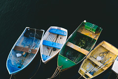 (David Youngblood) Tags: sonya6300 california monterey fisherman'swharf marina bay water paddle oars rowboats rowboat boats boat