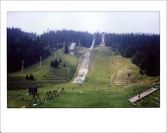 Bosnie - Sarajevo - Pistes saut à ski - JO d'hiver 1984 (FABIANI.T) Tags: instax instant instantané urbex abandonné abandonned bosnie sarajevo mostar instaxwide roadtrip
