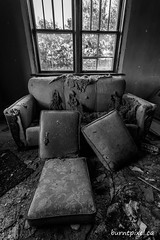 Comfy Couch (burntpixel.ca) Tags: canada manitoba photo photograph rural fine art patrick mcneill burntpixel amazing sony a7r2 a7rii sonya7r2 country prairie forgotten abandoned rurex black white monochrome history old weathered house couch