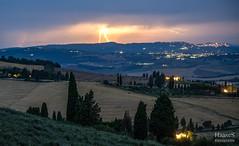 Pienza Thunder (SaschaHaaseFotografie) Tags: sascha haase toskana toscany italy italien italia