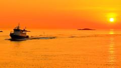 Røverfjord 31. mai -18 (bjarne.stokke) Tags: haugesund sletta osnesgavlen rogaland norway norge norwegen skyer solnedgang sunset