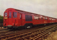 1931 London Standard Tube Stock Train. (RTW501) Tags: londonundergroundtrain londonunderground tubetrains electric stock standard 1931 airdoors actondepot