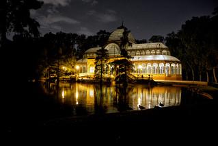 Palacio de Cristal. Parque de El Retiro. Madrid. Spain.