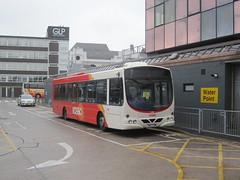 Transdev Rosso 1613 YN57 FWM (Irish Londoner) Tags: tfgm bus transport bury