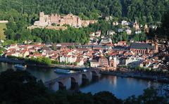 Heidelberg (madbesl) Tags: heidelberg deutschland germany schloss castle europa europe schlossheidelberg badenwürttemberg neckar view aussicht olympus omd em10 m10 omdem10 zuiko1250 stadt city town
