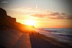 Cromer Sunset (JohnS87) Tags: cliffs mist sunset summer norfolk cromer
