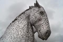 Kelpie Head (Suzanne's stream) Tags: kelpie head statues sculptures falkirk scotland schottland