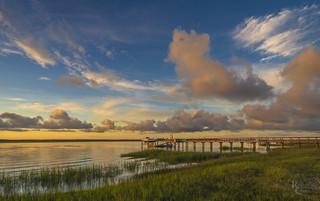 South Carolina Sunset Sky