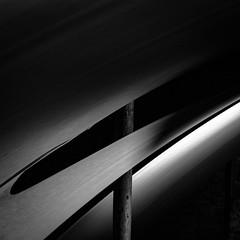 Biennale 2018 #6 (morbs06) Tags: biennale2018 indonesianpavillion italy sunyatathepoeticsofemptiness venice abstract architecture bw fabric geometry light lines monochrome shadow square stripes texture