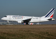 F-HBXG Embraer 175 Regional (@Eurospot) Tags: fhbxg embraer emb170 emb175 regional airfrance paris roissy cdg lfpg