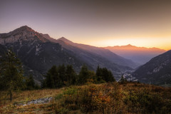 alba ... (Roberto Defilippi) Tags: 2018 502018 alba sunrise montagna mountain landscape panorama paesaggio tripod treppiede longexposure