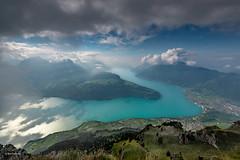 Cleared up for minutes... (Rolf Enderes) Tags: che fronalpstock innerschweiz stoos kantonschwyz schweiz ch lakelucerne lakezug lakes mountains alps clouds mist