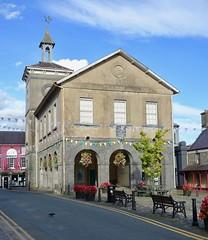 Llandovrey Town Hall (scuba_dooba) Tags: brecon beacons uk wales llandovrey carmarthenshire town