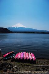 Lake Kawaguchi - Yamanashi, Japan (inefekt69) Tags: mt fuji mount fujisan fujiyoshida mountain nature lake kawaguchi kawaguchiko yamanashi 山梨県 河口湖 日本 nikon d5500