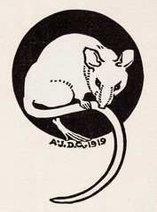 Mouse (1919) by Julie de Graag (1877-1924). Original from the Rijks Museum. Digitally enhanced by rawpixel. (Free Public Domain Illustrations by rawpixel) Tags: animal antique art artwork black drawing handdrawn illustrated illustration illustrator juliedegraag mouse old sketch vintage white woodcut