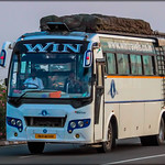 TN 21 BZ 3339 WIN TRAVELS SEMI SLEEPER (NAGERCOIL TO CHENNAI) (1) thumbnail
