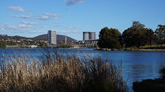 Cranes and hi-rise in Belconnen 2 (spelio) Tags: act canberra australia