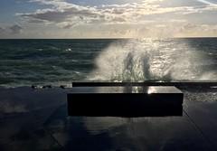 Shrine Of The Mermaids (Renate R.) Tags: mermaids shrine sea wave gischt spray spume seaspray nordsee danmark meerjungfrauen northsea