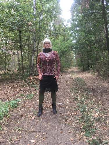 Tranny in the woods