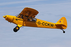 G-CCKW (QSY on-route) Tags: gcckw old timer fly drive in 2018 schaffen diest ebdt 12082018
