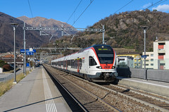 RABe 524 108 TILO   Lamone-Cadempino (Andrea Frigerio - gigi260890) Tags: rabe524 524tilo tilo etr524 524108 treno train zug trein s10 ferrovia railroad railway rail bahn eisenbahn lamone cadempino svizzera cantonticino tessin kanton switzerland suisse schweiz nikon d7000 1680
