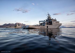 Rhone and Coast Guard Svalbard