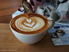 Cup of the day. (natureflower) Tags: cupoftheday coffee macro coffeeart latteart