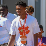 Recruits at 2018 Furman vs Clemson