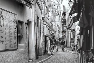 Dans les ruelles de Monaco