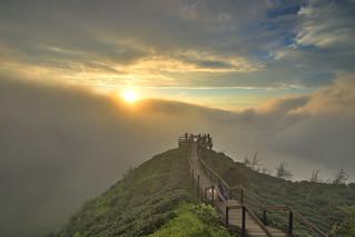 大崙山.觀霧亭~雲瀑~ Cloud Sunset