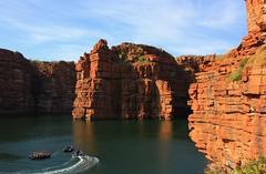 King George River (87) (ailognom2005) Tags: kinggeorgeriver kimberleyregion westernaustralia australia rockformations sandstone