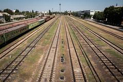 Soviet Train (Sam Wise) Tags: transnistria moldova rail bendery train republic railway moldovan soviet pridnestrovia bender
