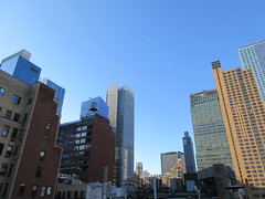 2018 September Bright Cloudless and Virtual Clock 0544 (Brechtbug) Tags: 2018 september bright cloudless virtual clock tower from hells kitchen clinton near times square broadway nyc 09162018 new york city midtown manhattan autumn weather building no hanging cumulonimbus cumulus nimbus cloud fall hell s nemo southern view ny1