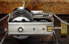 Gears (docoverachiever) Tags: mechanical home gears macro macromondays cogwheel flickrchallengegroup