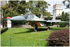 4111 Mig 29A preserved in Warsaw (SPRedSteve) Tags: 4111 mig29 polish museum aircraft relic preserved