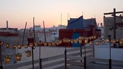 Evening over Essaouira (pan_orama) Tags: marokko maroc morocco essaouira beach harbour seagulls fish sun color travel