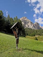 Paesaggio Dolomitico (1) (gio.pas_sm) Tags: suedtirol tirol corvara colfosco pescosta sentiero paesaggio dolomiti