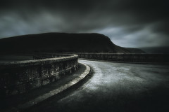 I lie awake in the night, listening to you sleeping... (Rob Scamp) Tags: nikon df dusk night naturallight availablelight darkness dark dam walls wall curves robscamp 24mm