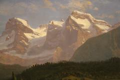 Snow Covered Peaks (skaradogan) Tags: pennsylvania lehighcounty allentown allentownartmuseum painting