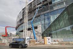 White Hart Lane Tottenham Hotspur New Stadium Construction, August 2018 (Katy/BlueyBirdy) Tags: whitehartlane tottenhamhotspur spurs tottenham construction cranes buildingwork football stadium footballstadium london