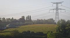 à travers les champs en normandie (Coisroux) Tags: d850 nikond850 normandy france landscapes agriculture buildings powerlines