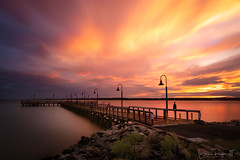 Good Things  ... (Simmie | Reagor - Simmulated.com) Tags: 2018 august dusk evening longislandsound longexposure nisifilter newhaven newhavenharbor park pier summer sunset waterfortnathanhale connecticut unitedstates us