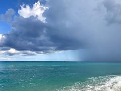 The storm is coming... (ryorii) Tags: beach spiaggia seaside black blue blu cielo sky italy italia zambrone calabria nuvole nuvola clouds tempesta storm pioggia rain mare sea